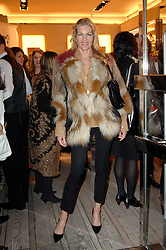 PRISCILLA WATERS at a party to celebrate the publication of 'Parisian Chic: A Style guide' by Ines de La Fressange held at Roger Vivier, Sloane Street, London on 5th Apreil 2011.