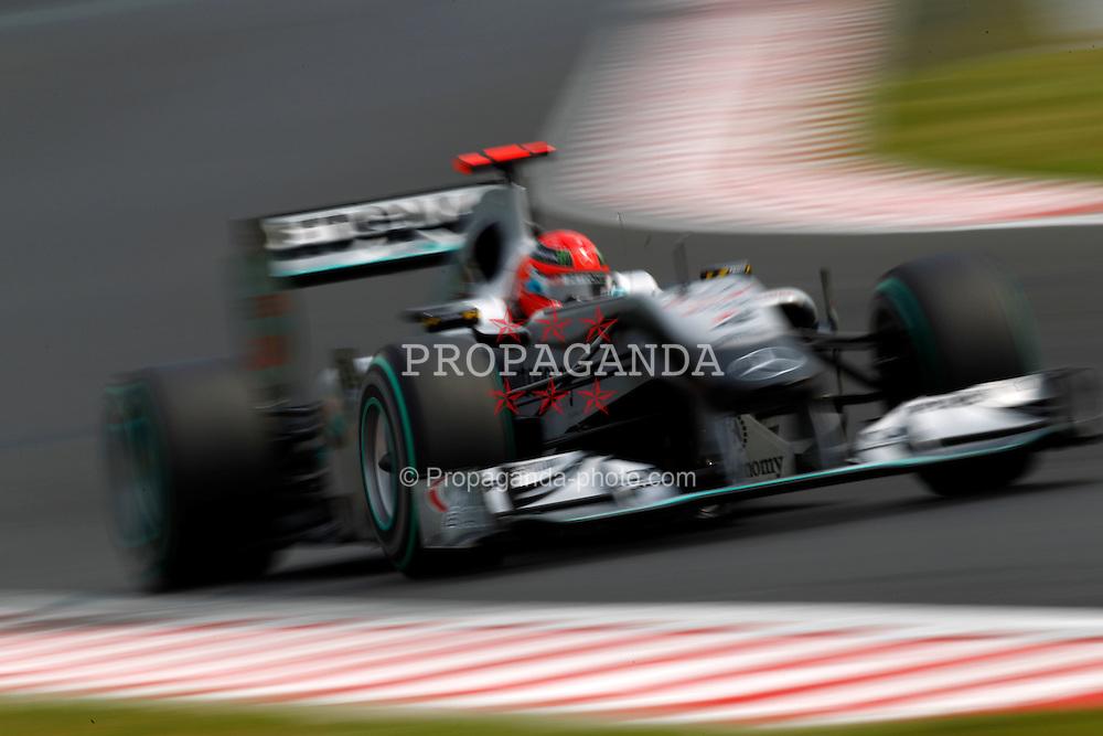 Motorsports / Formula 1: World Championship 2010, GP of Hungary, 03 Michael Schumacher (GER, Mercedes GP Petronas),