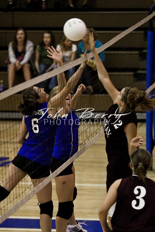 MCHS JV Volleyball .vs Luray.9/11/2008
