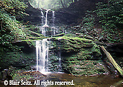 Waterfalls, Ricketts Glen State Park, Columbia, Luzerne, and Sullivan Counties, Benton, PA
