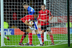 Cardiff City's Rudy Gestede runs to the ball quickly to prompt a quick restart - Photo mandatory by-line: Dougie Allward/JMP  - Tel: Mobile:07966 386802 15/12/2012 - SPORT - FOOTBALL -  Championship -  Cardiff-  New Cardiff City Stadium  -  Cardiff City v Peterborough United
