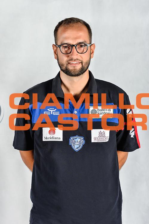 Marsilio Balzano, Eventi e Marketing<br /> Testine Busti Polo<br /> Banco di Sardegna Dinamo Sassari<br /> Olbia, 03/09/2017<br /> Foto L.Canu / Ciamillo-Castoria