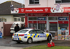 Rotorua-Armed robbery of dairy with a tomahawk