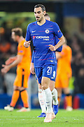 Chelsea defender Davide Zappacosta (21) during the Champions League group stage match between Chelsea and PAOK Salonica at Stamford Bridge, London, England on 29 November 2018.