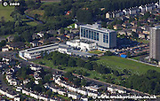aerial photograph of Cardonald College  Glasgow Scotland
