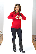 Photos taken for the Go Red Survivor article at the Pixelate Studio.
