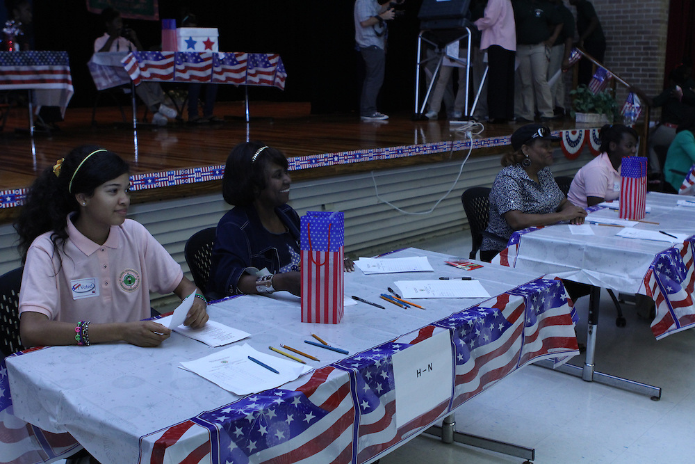 Attucks Middle School holds mock elections.<br /> To submit photos for inclusion in eNews, send them to hisdphotos@yahoo.com.