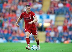 BLACKBURN, ENGLAND - Thursday, July 19, 2018: Liverpool's captain James Milner during a preseason friendly match between Blackburn Rovers FC and Liverpool FC at Ewood Park. (Pic by David Rawcliffe/Propaganda)