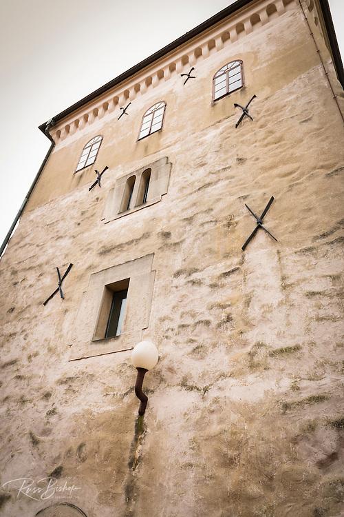 Lotrščak Tower in old town Gradec, Zagreb, Croatia