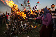 Kurdish Newroz celebration in Idomeni