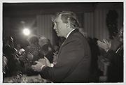 Cindy Adams, Joey Adams, Donald TrumpJoey Adams party. New York. 7/1/90.