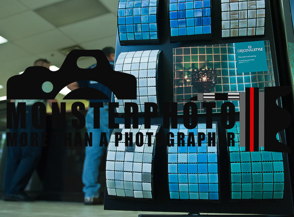 07/29/11 Wilmington DE:  Original style mosaics tiles on display (Right) at the Tile Market of Delaware Friday July 29, 2011, at the Tile Market of Delaware in Wilmington Delaware...Special to The News Journal/SAQUAN STIMPSON.