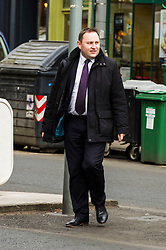 Pictured: Ian Murray<br /> <br /> Ian Murray , MP, shadow Scottish Secretary joined Edinburgh South candiate Daniel Johnson on the streets to Edinburgh to celebrate 10 years of free public transport for the over sixties and announce plans to immprove public transport. <br /> <br /> Ger Harley | EEm 1 April 2016