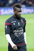 Mario Balotelli (Olympique Gymnaste Club Nice Cote d Azur - OGC Nice) during the French Championship Ligue 1 football match between Paris Saint-Germain and OGC Nice on October 27, 2017 at Parc des Princes stadium in Paris, France - Photo Stephane Allaman / ProSportsImages / DPPI