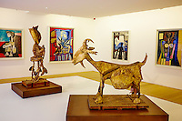 France, Paris (75), Musee Picasso, La Chevre, 1950 // France, Paris, Picasso museum, The Goat, 1950