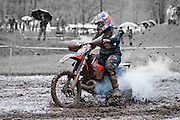 GNCC dirt bike race at Hurricane Mills, TN.