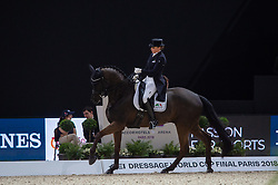 Dorothee SCHNEIDER ( GER) & Sammy Davis Jr. - Grand Prix Freestyle - FEI World Cup™ Dressage Final - FEI World Cup™ Dressage Final - Longines FEI World Cup Finals Paris - Accor Hotels Arena, Bercy, Paris, France - 14 April 2018