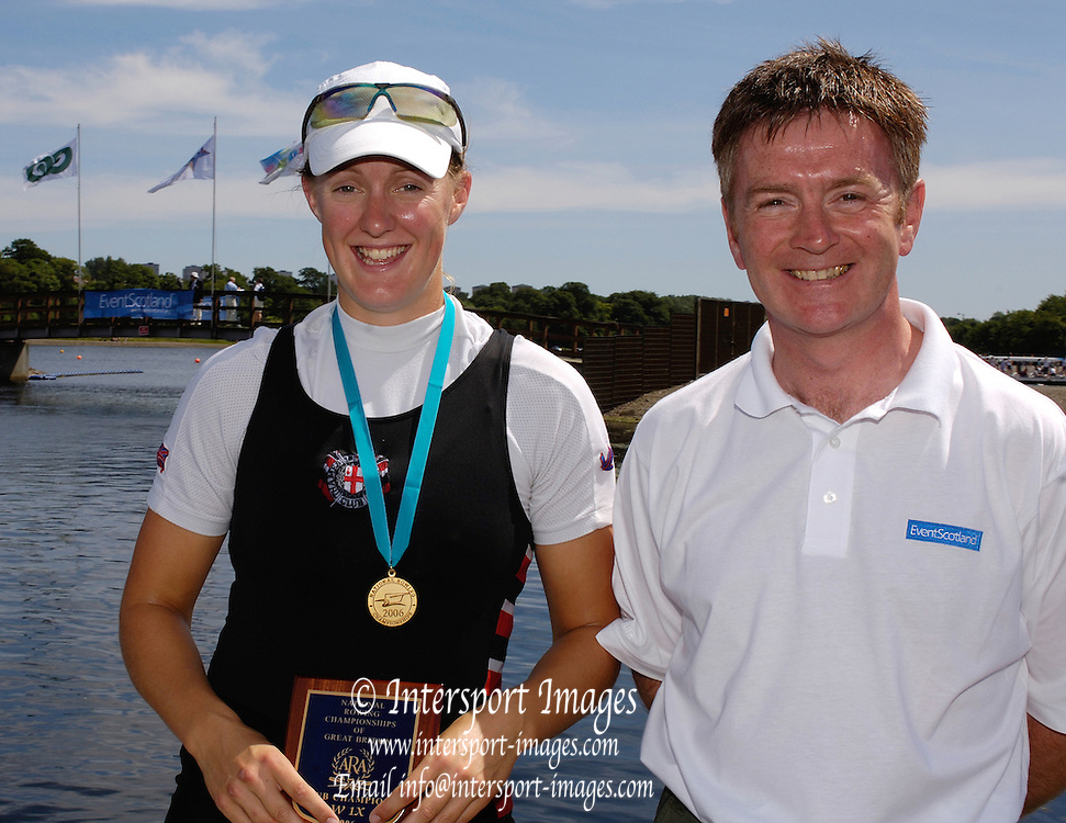 2006, National Rowing Championships,  Strathclyde Country Park,  Motherwell, SCOTLAND.  Sunday, 16.07.2006.  Photo  Peter Spurrier/Intersport Images email images@intersport-images.com. Finals Day.... Rowing Course, Strathclyde Country Park,  Motherwell, SCOTLAND.