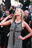 Karlie Kloss at the gala screening for the film Youth at the 68th Cannes Film Festival, Wednesday May 20th 2015, Cannes, France.