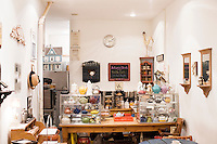 "5 November, 2008. New York, NY. Podunk is a self-styled ""American tearoom"" in the East Village.The owner, Elspeth Treadwell, left a career in publishing to open Podunk six years ago, in 2002. <br /> <br /> ©2008 Gianni Cipriano for The New York Times<br /> cell. +1 646 465 2168 (USA)<br /> cell. +1 328 567 7923 (Italy)<br /> gianni@giannicipriano.com<br /> www.giannicipriano.com"