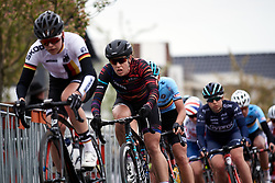 Tanja Erath (GER) on the final lap at Healthy Ageing Tour 2019 - Stage 2, a 134.4 km road race starting and finishing in Surhuisterveen, Netherlands on April 11, 2019. Photo by Sean Robinson/velofocus.com