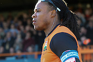 Picture by David Horn/Focus Images Ltd +44 7545 970036.20/04/2013.Edgar Davids , player/manager of Barnet during the npower League 2 match at Underhill Stadium, London.