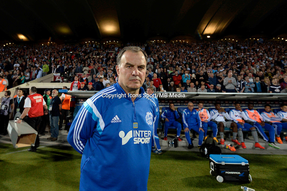 Marcelo BIELSA - 12.04.2015 - Bordeaux / Marseille - 32eme journee de Ligue 1 <br />Photo : Caroline Blumberg / Icon Sport
