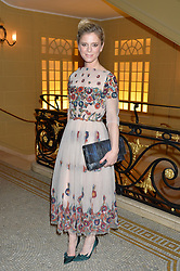EMILIA FOX at the Lancôme BAFTA Dinner held at The Cafe Royal, Regent's Street, London on 6th February 2015.