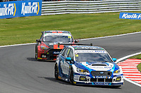 #18 Senna Proctor Adrian Flux Subaru Racing Subaru Levorg GT  during BTCC Rounds 13,14 and 15 at Oulton Park, Little Budworth, Cheshire, United Kingdom. June 30 2019. World Copyright Peter Taylor/PSP. Copy of publication required for printed pictures.