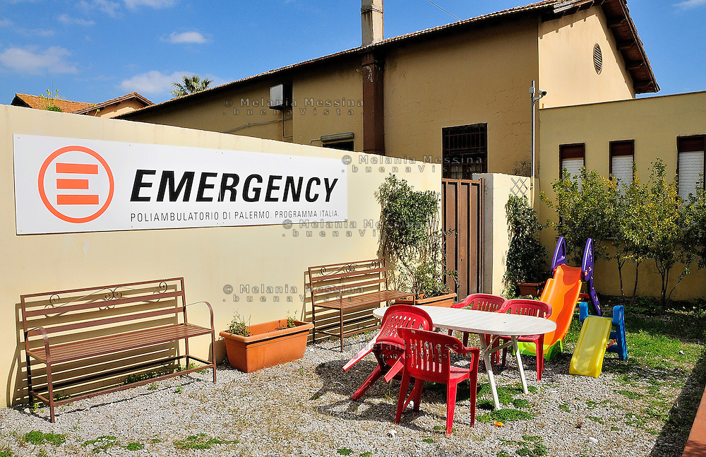 Palermo, headquarters of Emergency.<br /> Palermo, locali dell'ambulatorio di Emergency.