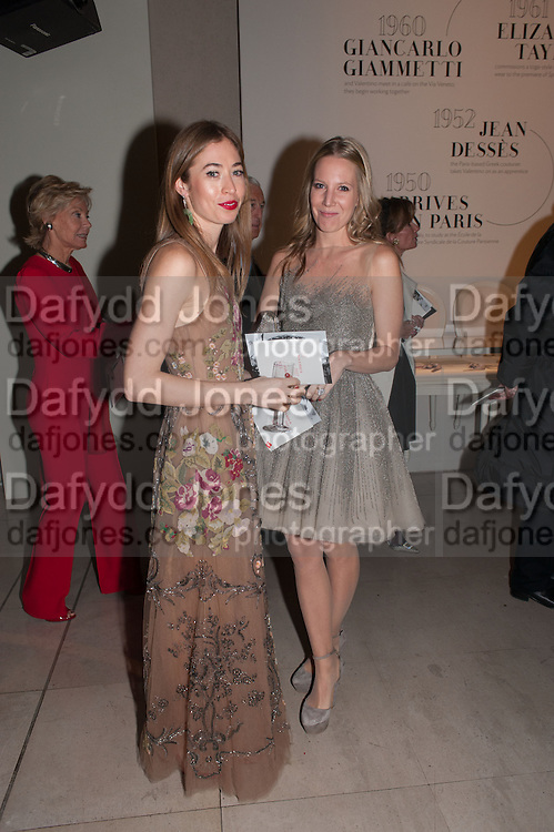ANOUSKHA BECKWITH; ALICE NAYLOR-LEYLAND, Valentino: Master of Couture - private view. Somerset House, London. 28 November 2012