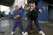 kids, Liverpool, UK, 2001
