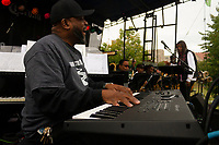 """The 12th annual Hyde Park Jazz Festival was held this weekend, Saturday, September 29th and Sunday, September 30th, 2018 at various venues around Hyde Park. Jazz musicians from all around came out to play at the two-day event. <br /> <br /> 3031 – The Chicago State University Community Jazz Band performed Saturday afternoon on the Midway Plaisance located at 1130 Midway Plaisance on the University of Chicago campus.<br /> <br /> Please 'Like' """"Spencer Bibbs Photography"""" on Facebook.<br /> <br /> Please leave a review for Spencer Bibbs Photography on Yelp.<br /> <br /> Please check me out on Twitter under Spencer Bibbs Photography.<br /> <br /> All rights to this photo are owned by Spencer Bibbs of Spencer Bibbs Photography and may only be used in any way shape or form, whole or in part with written permission by the owner of the photo, Spencer Bibbs.<br /> <br /> For all of your photography needs, please contact Spencer Bibbs at 773-895-4744. I can also be reached in the following ways:<br /> <br /> Website – www.spbdigitalconcepts.photoshelter.com<br /> <br /> Text - Text """"Spencer Bibbs"""" to 72727<br /> <br /> Email – spencerbibbsphotography@yahoo.com<br /> <br /> #SpencerBibbsPhotography #HydePark #Community #Neighborhood<br /> #Music<br /> #HydeParkJazzFestival<br /> #Jazz<br /> #LiveMusic"""