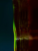 abstract photography using glass and light
