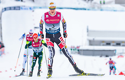 10.03.2018, Holmenkollen, Oslo, NOR, FIS Weltcup Nordische Kombination, Oslo, Langlauf, im Bild Mario Seidl (AUT) // Mario Seidl of Austria during the Cross Country of the FIS Nordic Combined World Cup at the Holmenkollen in Oslo, Norway on 2018/03/10. EXPA Pictures © 2018, PhotoCredit: EXPA/ JFK
