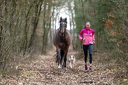 ROECKENER Lisa<br /> Joggen<br /> Kettenkamp - Portrait Lisa Roeckener 2019<br /> Homestory und Portrait Lisa Roeckener<br /> 20. Februar 2019<br /> © www.sportfotos-lafrentz.de/Stefan Lafrentz