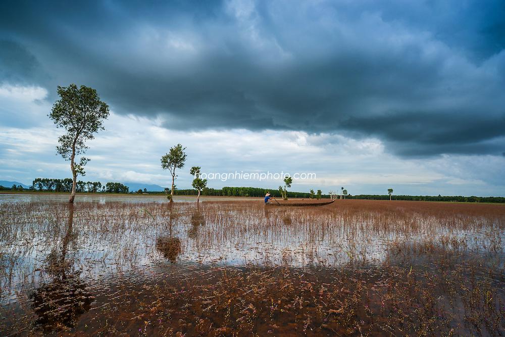 Vietnam Images- Mekong delta-Mùa nước nổi-Châu Đốc