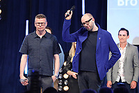 The Chemical Brothers accept their award during the O2 Silver Clef Awards 2019, Grosvenor House, London, UK, Friday 05 July 2019<br /> Photo JM Enternational