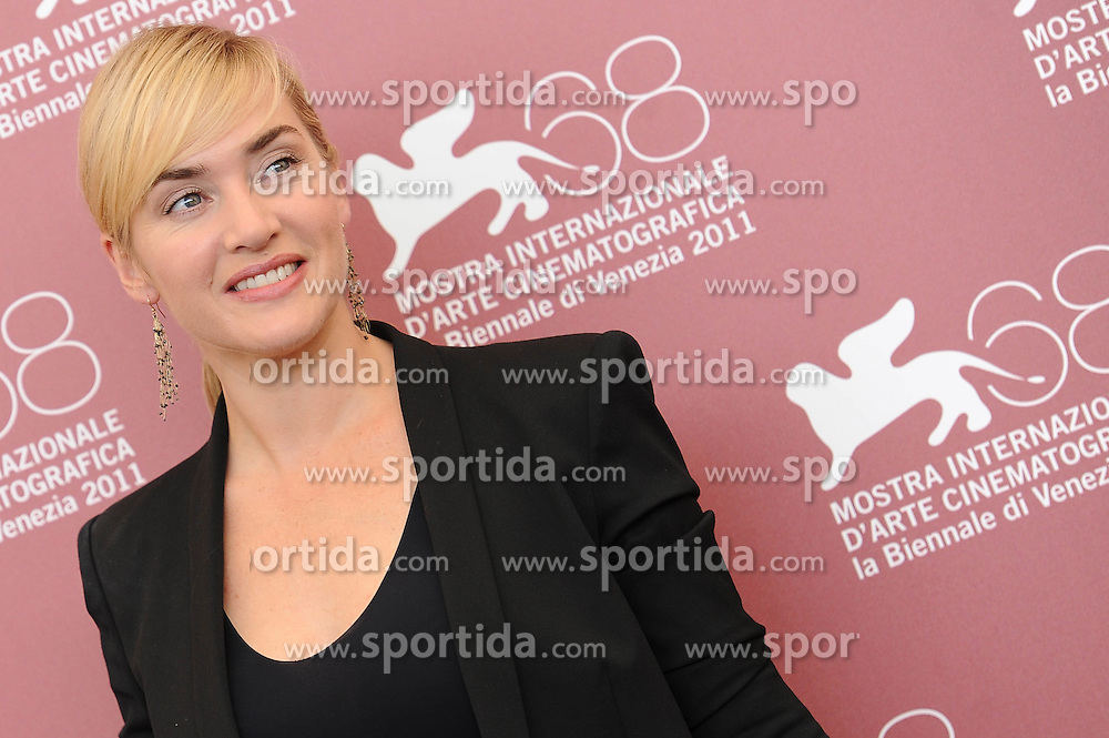 02.09.2011, Venedig, ITA, La Biennale, 68. Filmfestspiele von Venedig, im Bild Kate WINSLET. // during 68th Venice Film Festival, mostra del cinema at in Venice Italy on 1/6/2011. EXPA Pictures © 2011, PhotoCredit: EXPA/ Insidephoto/ Massimo Oliva +++++ ATTENTION - FOR AUSTRIA/(AUT), SLOVENIA/(SLO), SERBIA/(SRB), CROATIA/(CRO), SWISS/(SUI) and SWEDEN/(SWE) CLIENT ONLY +++++
