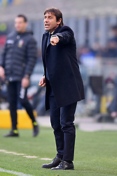 26.01.2020, Stadio Giuseppe Meazza, Mailand, ITA, Serie A, Inter Mailand vs Cagliari Calcio, 21. Runde, im Bild Antonio Conte (F.C. Internazionale Milano) // Antonio Conte (F.C. Internazionale Milano); during the Seria A 21th round match between Inter Mailand and Cagliari Calcio at the Stadio Giuseppe Meazza in Mailand, Italy on 2020/01/26. EXPA Pictures © 2020, PhotoCredit: EXPA/ laPresse/ Fabio Ferrari<br /> <br /> *****ATTENTION - for AUT, SUI, CRO, SLO only*****