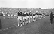 All Ireland Senior Football Championship Final, Dublin v Galway, 22.09.1963, 09.23.1963, 22nd September 1963, Dublin 1-9 Galway 0-10,.
