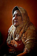 maryani, 50 years old with her adopted child, she was the founder of this center. she want the waria can be equal with other in practice their religion. she keep founding the center from 2008 until now.The Al-Fatah Center is a place for transvestites to learn islam and pray this breaking with the norm in the world's most populous Muslim country Indonesia