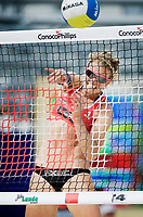 29. Juni 2009 , VM Sandvolleyball , beachvolleyball , stavanger , kvinner , Norge - Ukraina ,  Kathrine Maaseide ,  Norge , Foto: Tommy Ellingsen