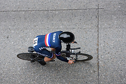 Audrey Cordon-Ragot at UCI Road World Championships Elite Women's Individual Time Trial 2017 a 21.1 km time trial in Bergen, Norway on September 19, 2017. (Photo by Sean Robinson/Velofocus)