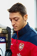 Picture by David Horn/Focus Images Ltd +44 7545 970036<br /> 26/10/2013<br /> Mesut Ozil of Arsenal arriving for the Barclays Premier League match at Selhurst Park, London.