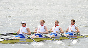 Reading, GREAT BRITIAN, GBR W4X British Olympic Association, BOA, 2008 Beijing Olympic Rowing Team Announcement for 2008 Beijing Olympic Games, CHINA. .Redgrave and  Pinsent Rowing Lake, Caversham Training Centre, on Thursday, 26/06/2008. [Mandatory Credit:  Peter SPURRIER / Intersport Images] ..Crew lright Annie VERNON, Debbie FLOOD, Frances HOUGHTON and Katherine GRAINGER Rowing course: GB Rowing Training Complex, Redgrave Pinsent Lake, Caversham, Reading