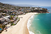 Laguna Beach Coastline Looking South Aerial Photo