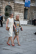 LISA MILROY; JUDITH GODDARD, Royal Academy Annual dinner, Piccadilly, London. 6 June 2016