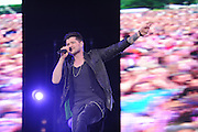 17.AUGUST.2013. CHELMSFORD<br /> <br /> THE SCRIPT PERFORMING LIVE AT V FESTIVAL, HYLANDS PARK, CHELMSFORD<br /> <br /> BYLINE: EDBIMAGEARCHIVE.CO.UK<br /> <br /> *THIS IMAGE IS STRICTLY FOR UK NEWSPAPERS AND MAGAZINES ONLY*<br /> *FOR WORLD WIDE SALES AND WEB USE PLEASE CONTACT EDBIMAGEARCHIVE - 0208 954 5968*