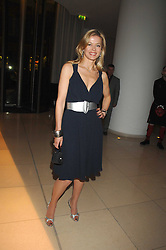 LADY HELEN TAYLOR at 'Not Another Burns Night' in association with CLIC Sargebt and Children's Hospice Association Scotland held at ST.Martins Lane Hotel, London on 3rd March 2008.<br />